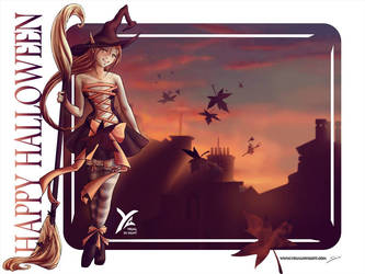 Halloween's crazy drawing week : J-7 ! by yrialinsight