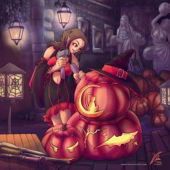 Halloween's crazy drawings week :J-2 ! by yrialinsight