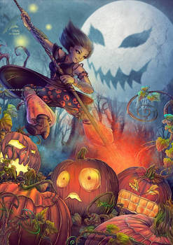 Halloween's crazy drawings week :J-1 ! by yrialinsight