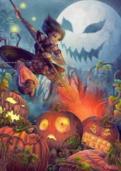Halloween's crazy drawings week :J-1 !