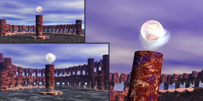 Orbe : Bryce 3d rendering
