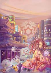 Purple Tide by yrialinsight