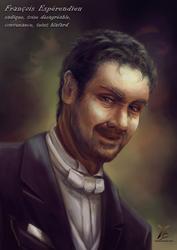Portrait, charadesign : an evil guy !