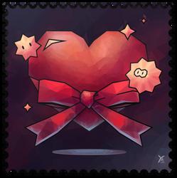 ValentinesTemplate3 : valentine's day card, DA !