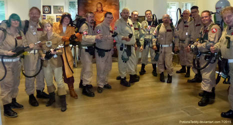 Ghostbusters United :-)