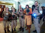 Ghostbusting colleagues at Fed Con 2016