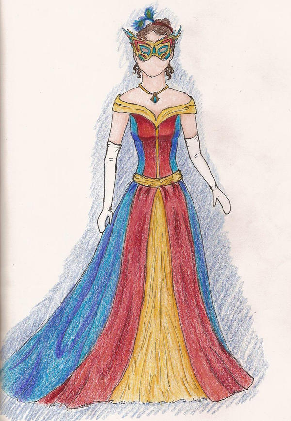 ball gown dress drawings - photo #23