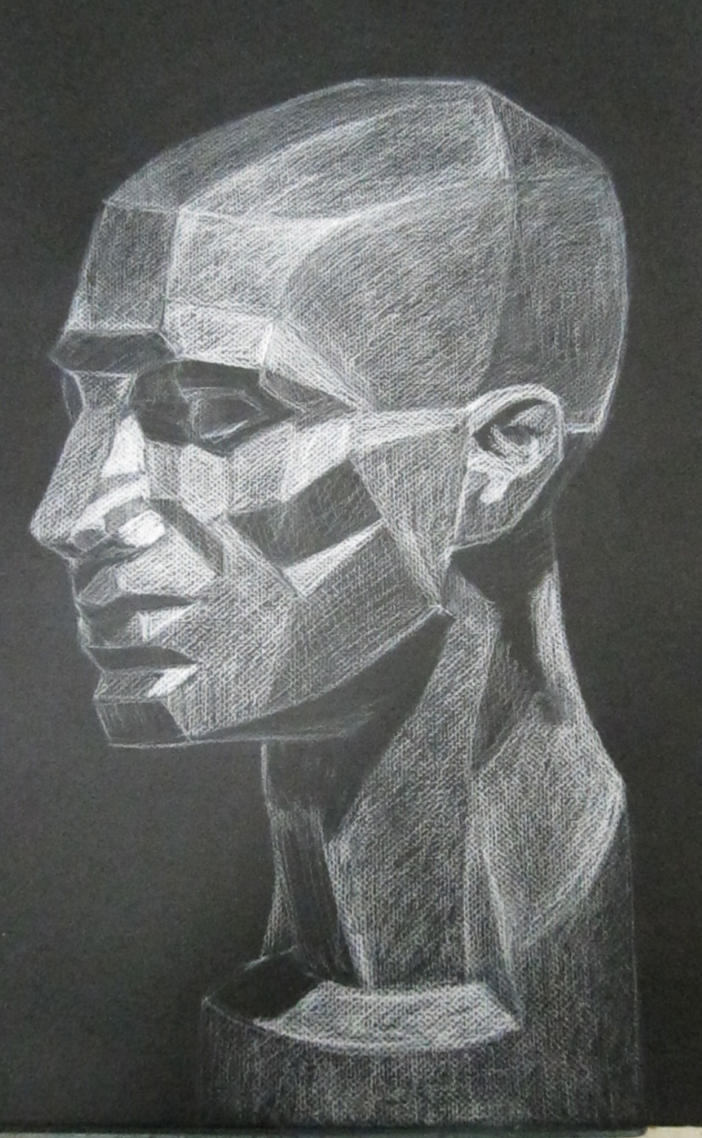 Geometric Head by melzika