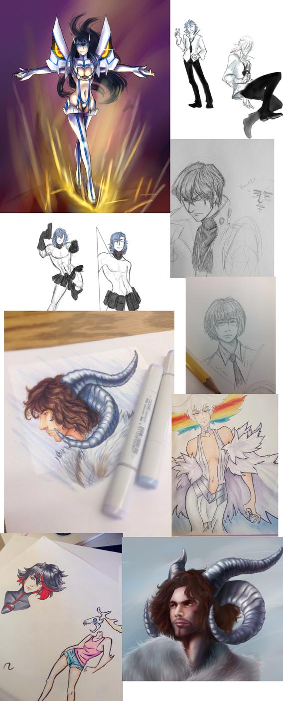 Tumblr sketch dump by Veevee-Girl