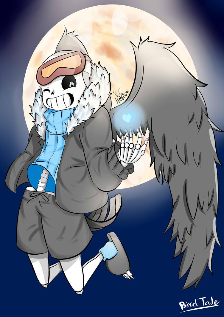 Birdtale Sans by saphirewolfy on DeviantArt
