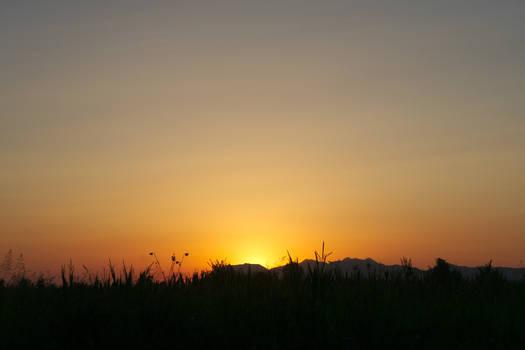 Albanian Sunset