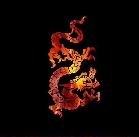 Elemental dragons by Buntarika