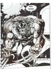 Wolverine Sketch by neeeil