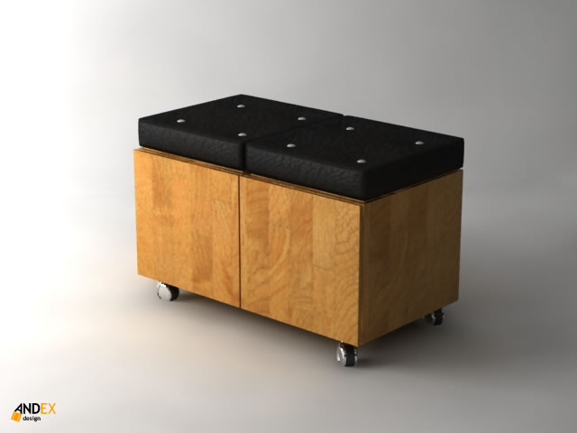 3d furniture box model by AndexDesign on deviantART