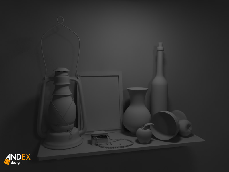 3d still life models by AndexDesign