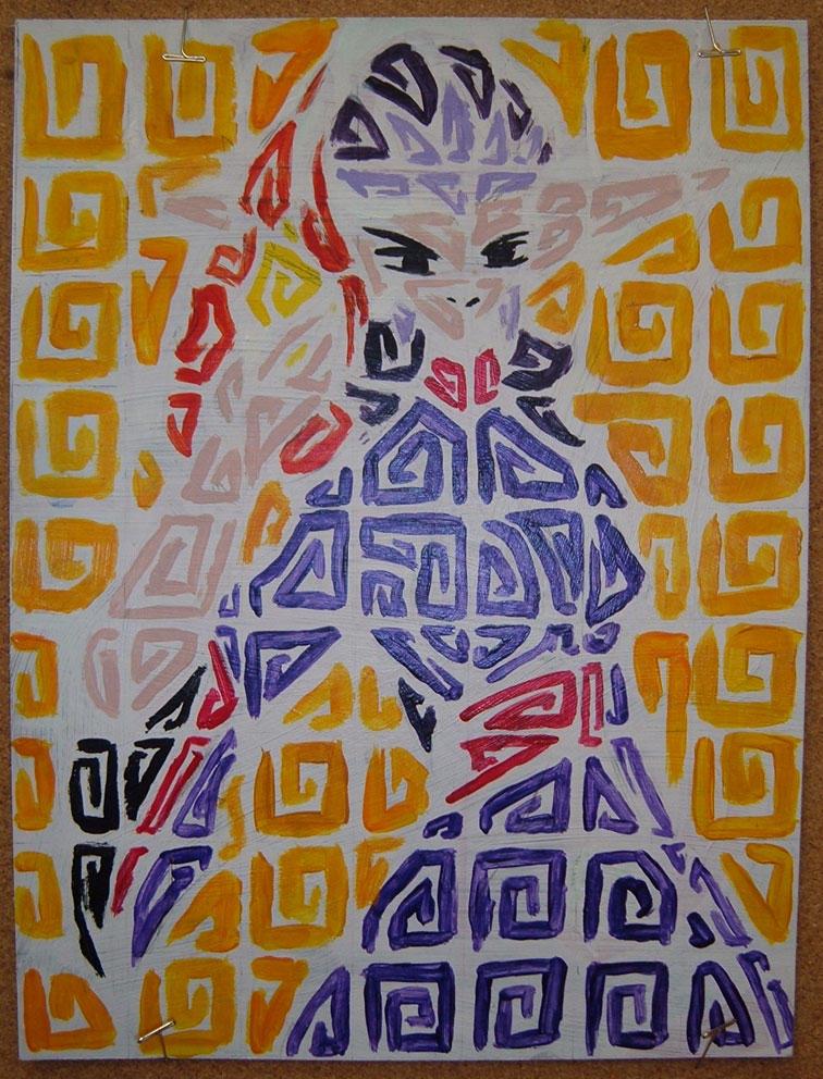 Wuya painting by Shinigami3000