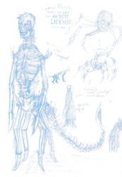 Gary - Sketch :Monster Planet: