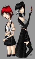 Rita and Nitro CG by sedge