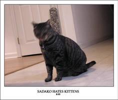 SADAKO HATES KITTENS by sedge