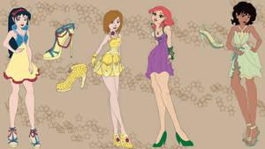 WIP- Disney Princess Inspired Party Wear