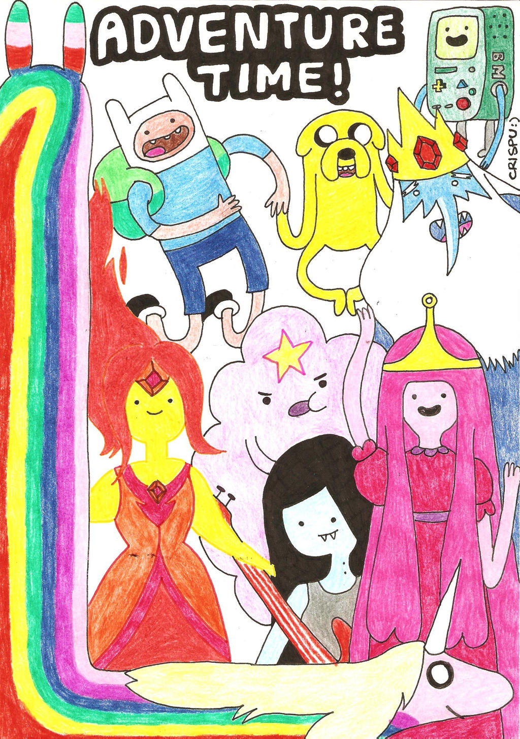 Adventure Time! - 2012 - 09 - 06 by sakuritachan92