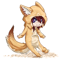 Nozomi Vulpes zerda pixel.cos by xVenomousVanni