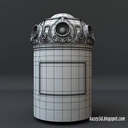 Star Wars Droid  wip by Kuzey3d