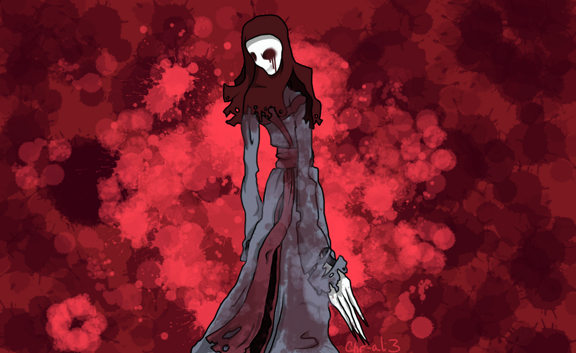 If Slenderman Had A Wife.... by Chr-ali3