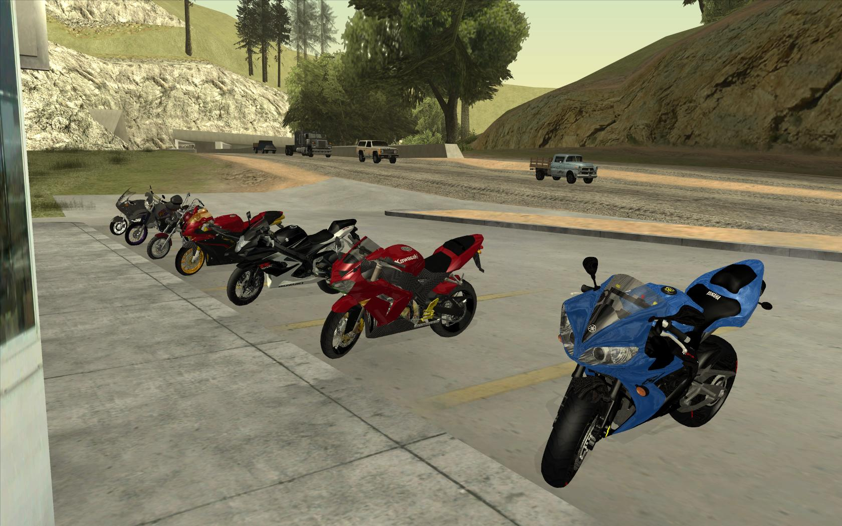 Bikes Gta Some bikes added to GTA SA by