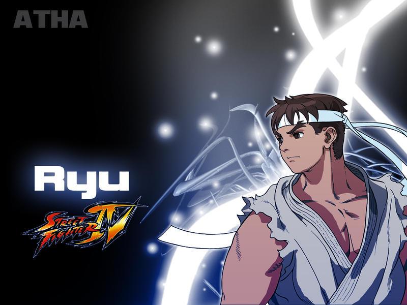 wallpaper street fighter. Street Fighter: Ryu- Wallpaper