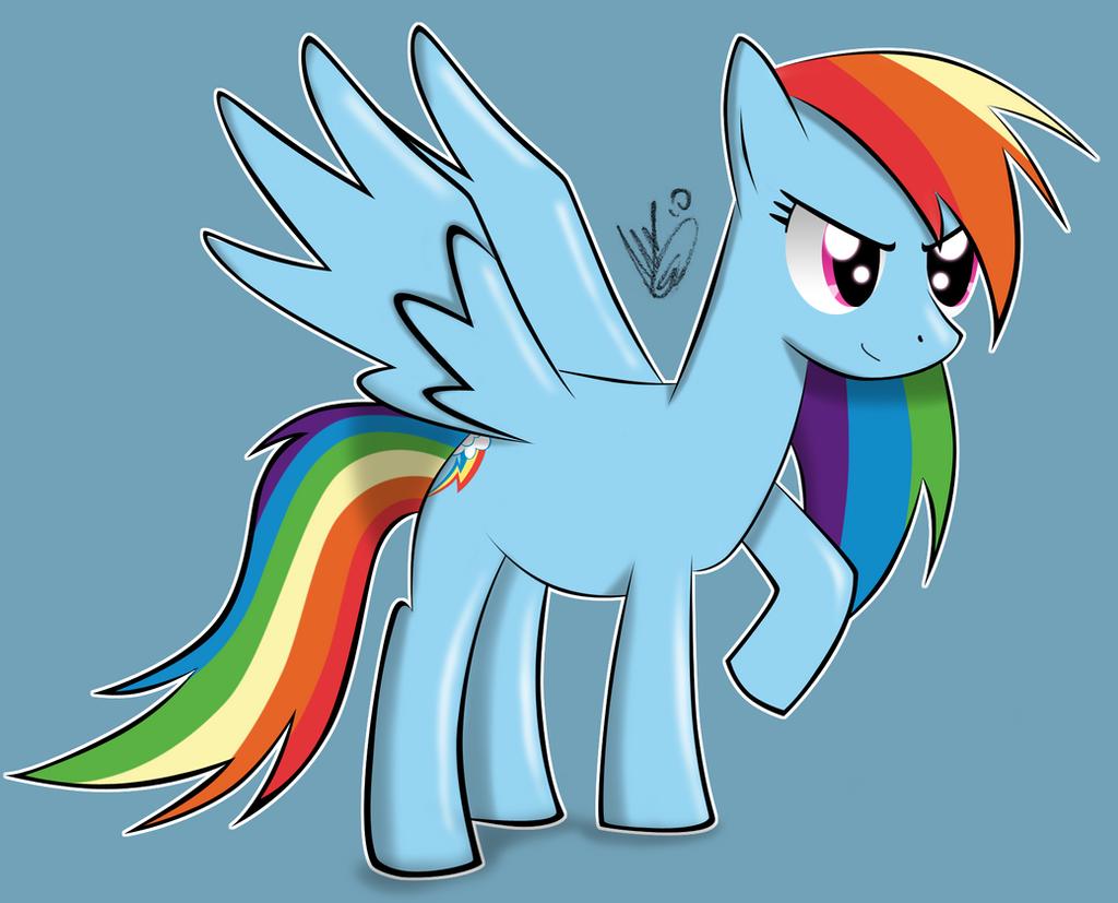 I'm Rainbow Dash by AlexTHF