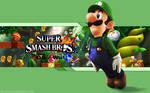 Luigi Wallpaper - Super Smash Bros. Wii U/3DS