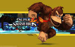 DK Wallpaper - Super Smash Bros. Wii U/3DS