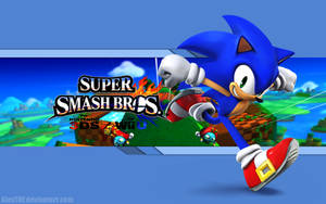 Sonic Wallpaper - Super Smash Bros. Wii U/3DS by AlexTHF