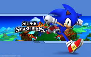 Sonic Wallpaper - Super Smash Bros. Wii U/3DS by AlexTHF