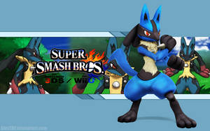 Lucario Wallpaper - Super Smash Bros. Wii U/3DS by AlexTHF