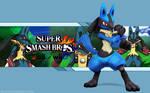 Lucario Wallpaper - Super Smash Bros. Wii U/3DS