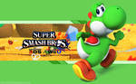 Yoshi Wallpaper - Super Smash Bros. Wii U/3DS