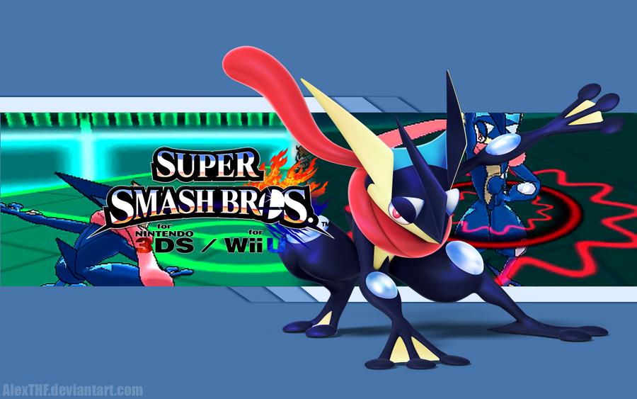 Greninja Wallpaper - Super Smash Bros  Wii U 3DS by AlexTHFGreninja Super Smash Bros