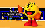 Pacman Wallpaper - Super Smash Bros. Wii U/3DS