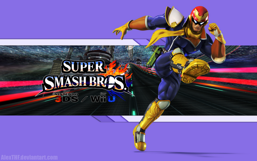 Captain Falcon Wall - Super Smash Bros. Wii U/3DS by ...
