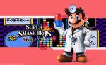 Dr. Mario Wallpaper - Super Smash Bros. Wii U/3DS