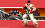 Ryu Wallpaper - Super Smash Bros. Wii U/3DS