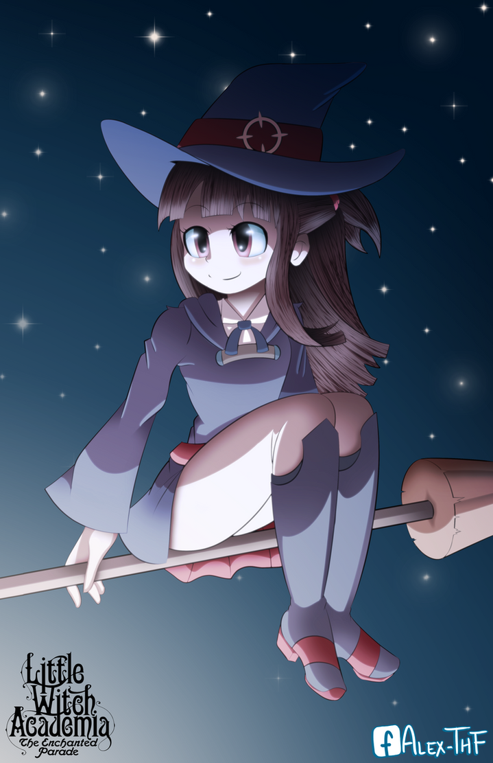 Little Witch Academia - Akko by AlexTHF