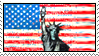 American flag stamp by Avell-Angel