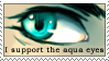 Aqua Eyes Support Stamp by Avell-Angel