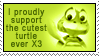 Cutest turtsie Stamp by Avell-Angel