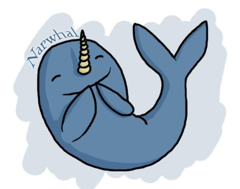 narwhals cartoon