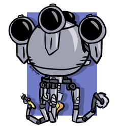 Codsworth - Fallout 4 by DaisytheDragon