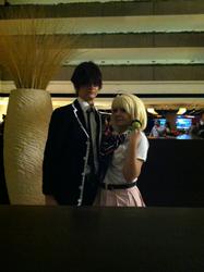 Yukio and Shiemi by Rainbowberryrain
